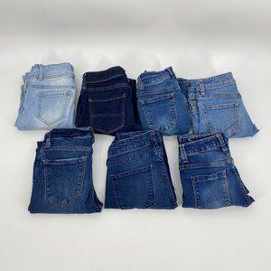 Juniors Skinny Jean Size 0 00 1 Bundle of 7